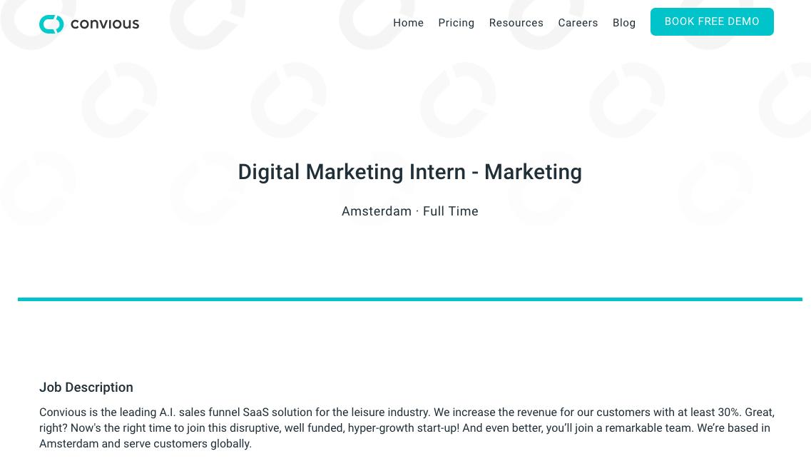Sales Intern Job Description   Marketing Intern Job Description